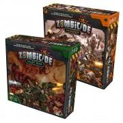Zombicide Invader + Dark Side Jogo de Tabuleiro Galapagos