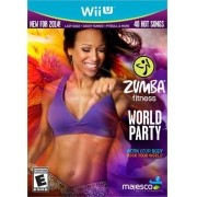 Zumba Fitness World Party Nintendo Wii-U Original Lacrado