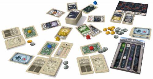 1920 Wall Street Jogo de Cartas Ludofy  - Place Games