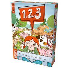 1, 2, 3 !  Jogo de Cartas Devir BG123  - Place Games