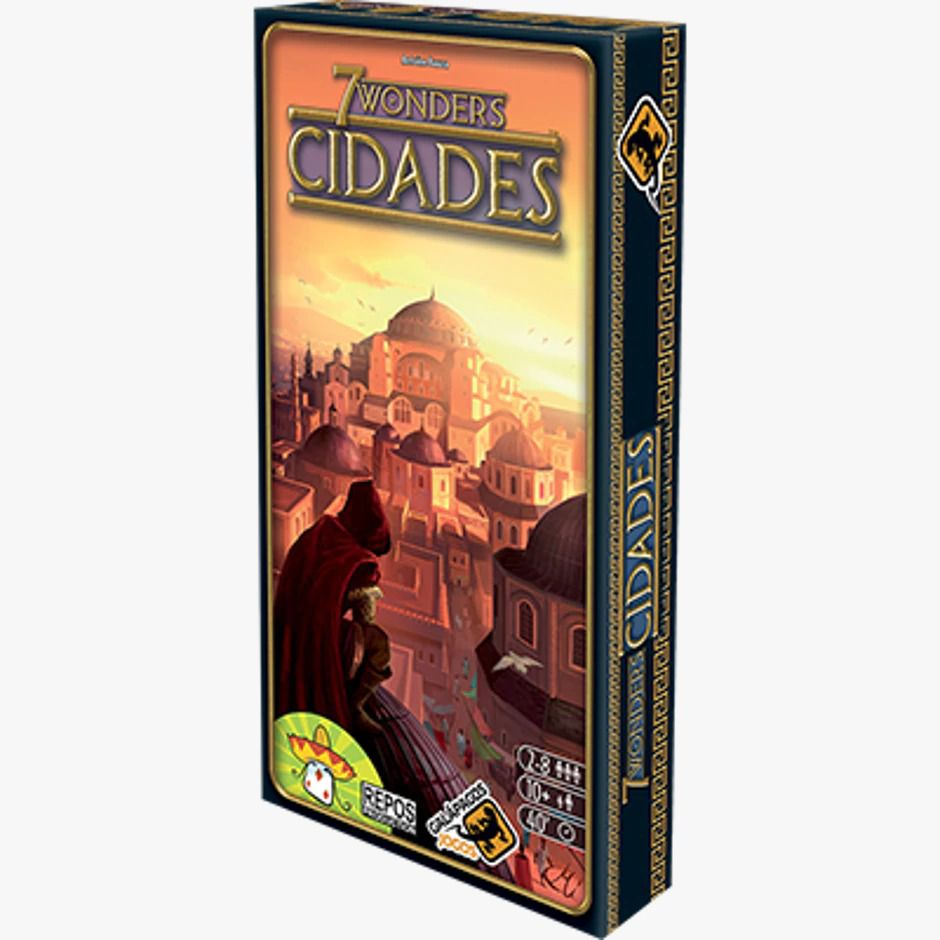 7 Wonders Cidades Cities Expansão Galapagos 7WO005  - Place Games