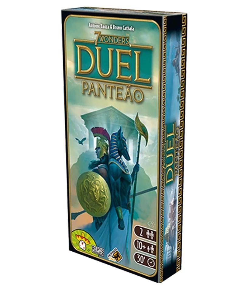 7 Wonders Duel Panteão Expansão de Jogo de Tabuleiro Galapagos 7WO012  - Place Games