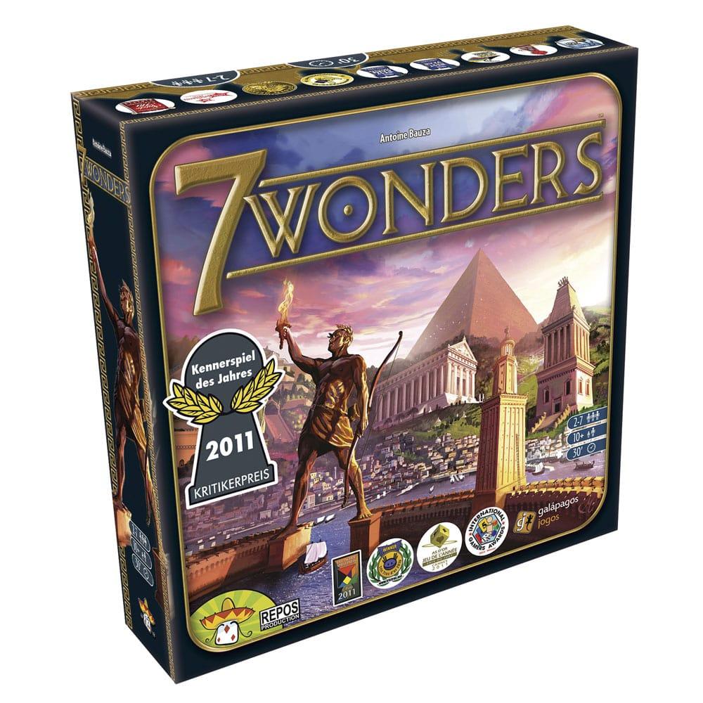 7 Wonders Jogo de Tabuleiro Galapagos 7WO001  - Place Games