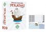 Piratas! + Expansão Navegar + 6 Playmats Jogo de Cartas Geeks'N Orcs