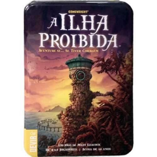 A Ilha Proibida Jogo de Cartas Devir BGILHA  - Place Games