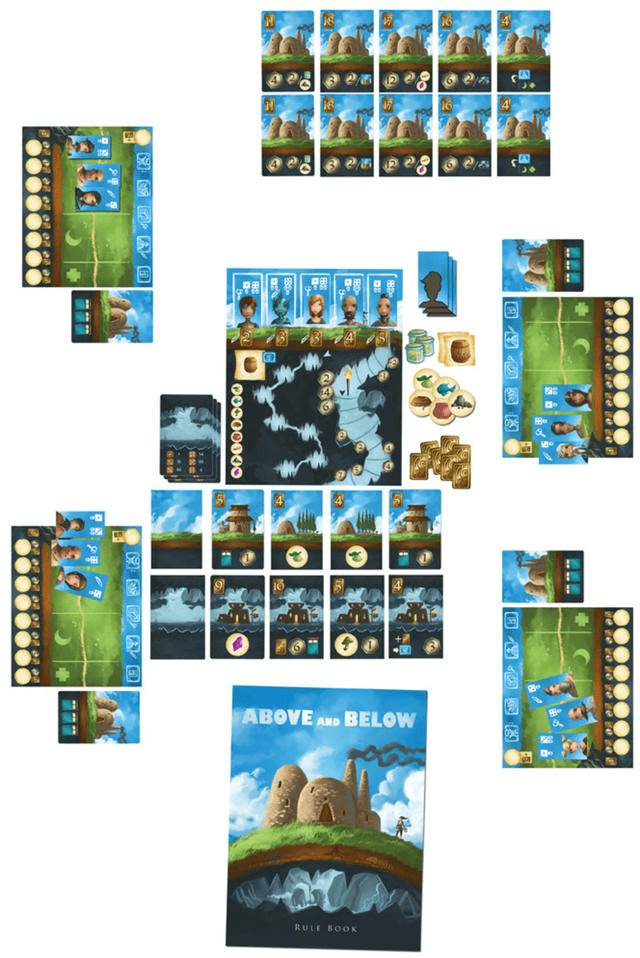 Above and Below Jogo de Tabuleiro Conclave  - Place Games