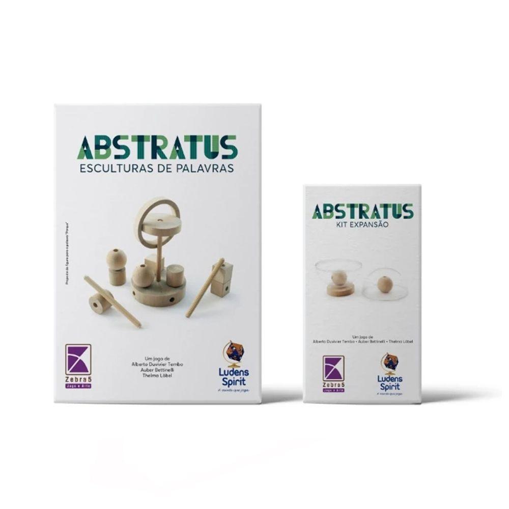 Kit Abstratus + Expansão de Jogo Abstrato Ludens Spirit JL0152  - Place Games