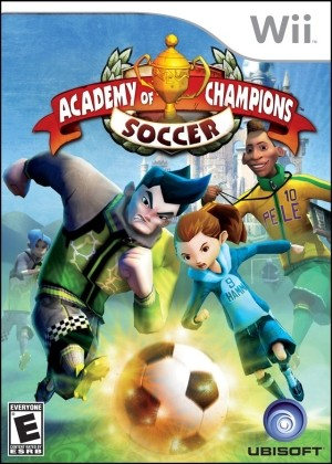 Academy of Champions - Soccer Wii Usado Original  - Place Games