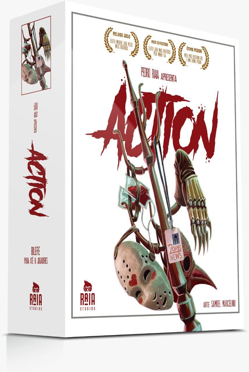 Action Jogo de Cartas Raia Studios   - Place Games