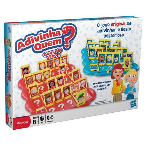 Adivinha Quem Jogo de Tabuleiro Hasbro 04800  - Place Games