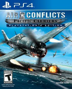Air Conflicts Pacific Carriers Playstation 4 Original Usado  - Place Games