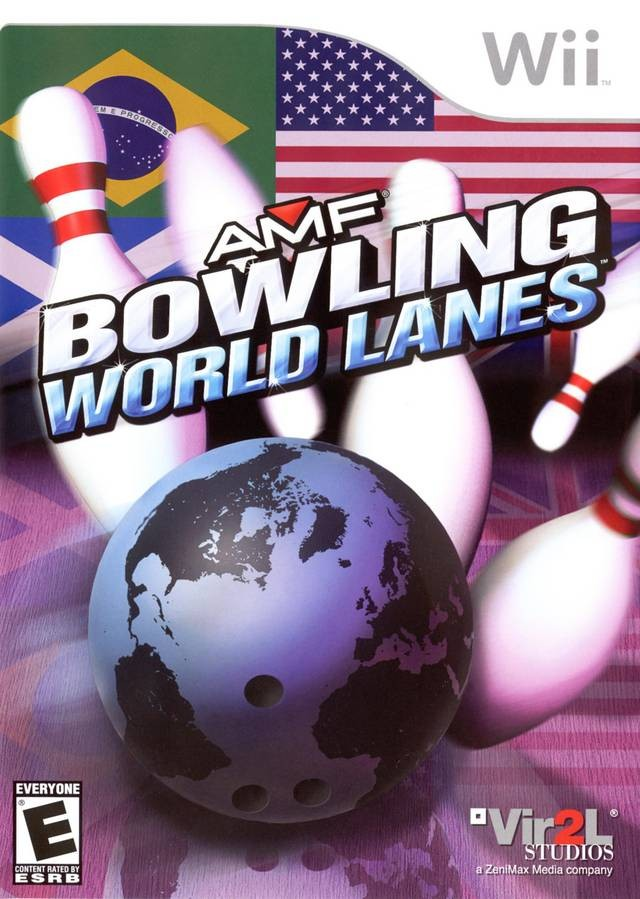 AMF - Bowling World Lanes Wii Usado Original  - Place Games