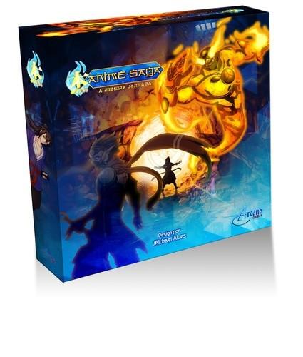 Anime Saga A Primeira Jornada Jogo de Tabuleiro Arcano Games Meeple BR  - Place Games