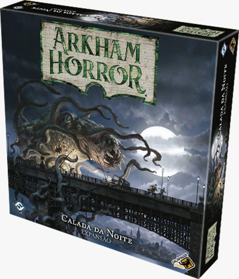 Arkham Horror Calada da Noite Expansão de Jogo de Tabuleiro Galapagos AHB004  - Place Games