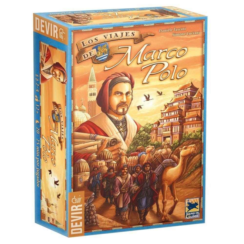 As Viagens de Marco Polo  Jogo de Tabuleiro Devir BGMARCO  - Place Games
