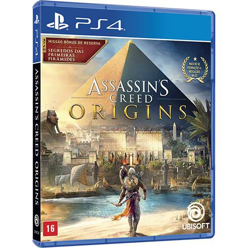 Assassins Creed Origins Brazil Le - 2017 - PlayStation 4  - Place Games
