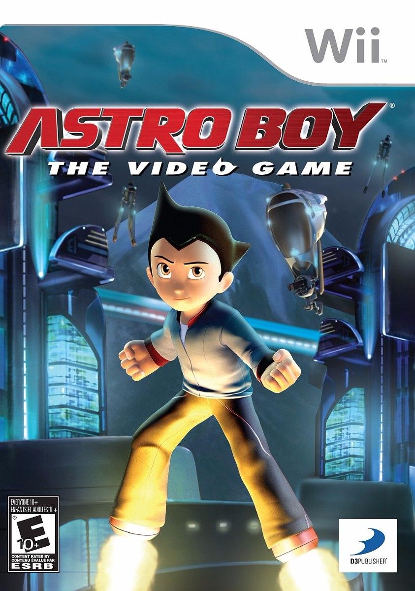 Astro Boy The Videogame Nintendo Wii Original Lacrado  - Place Games