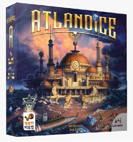 Atlandice Jogo de Dados Meeple BR  - Place Games