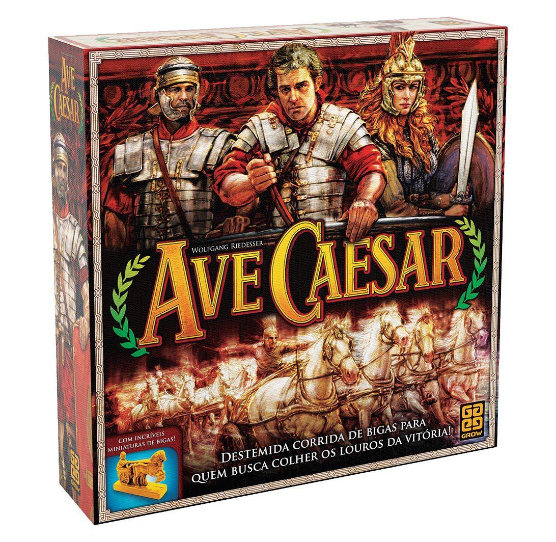 Ave Caesar Jogo de tabuleiro Grow 3118  - Place Games