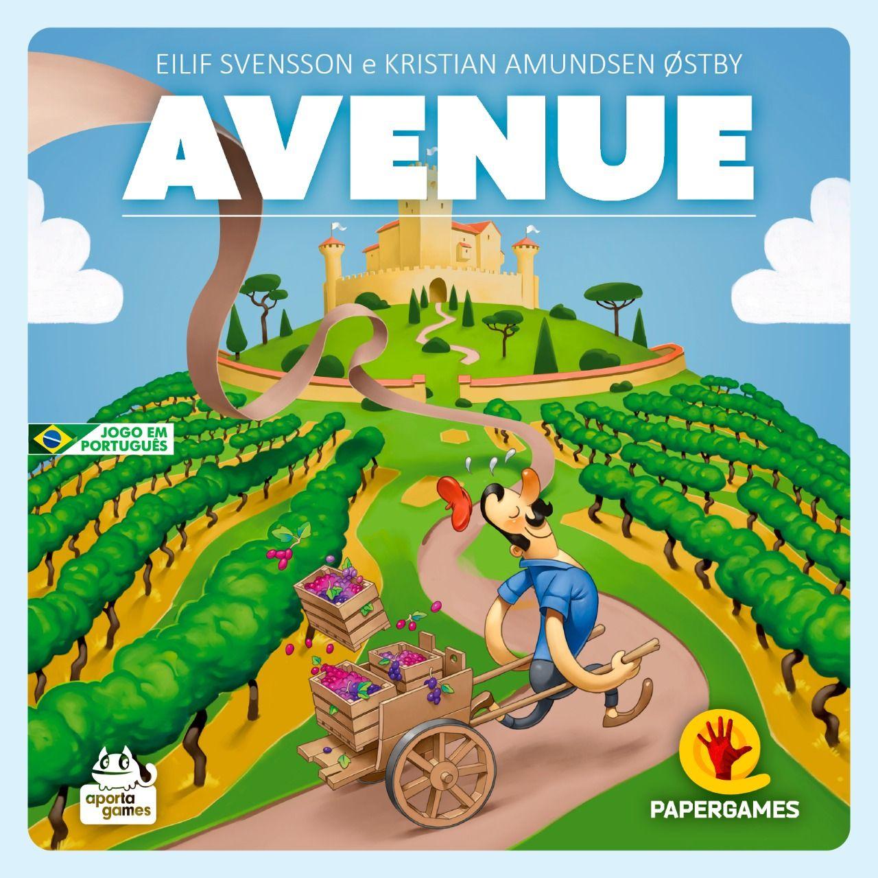 Avenue Jogo de Estrategia PaperGames J016  - Place Games