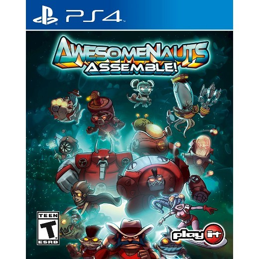 Awesomenauts Assemble Playstation 4 Original Usado  - Place Games