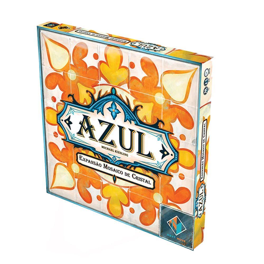 Azul Mosaico de Cristal Expansão de Jogo de Tabuleiro Galapagos AZU002  - Place Games