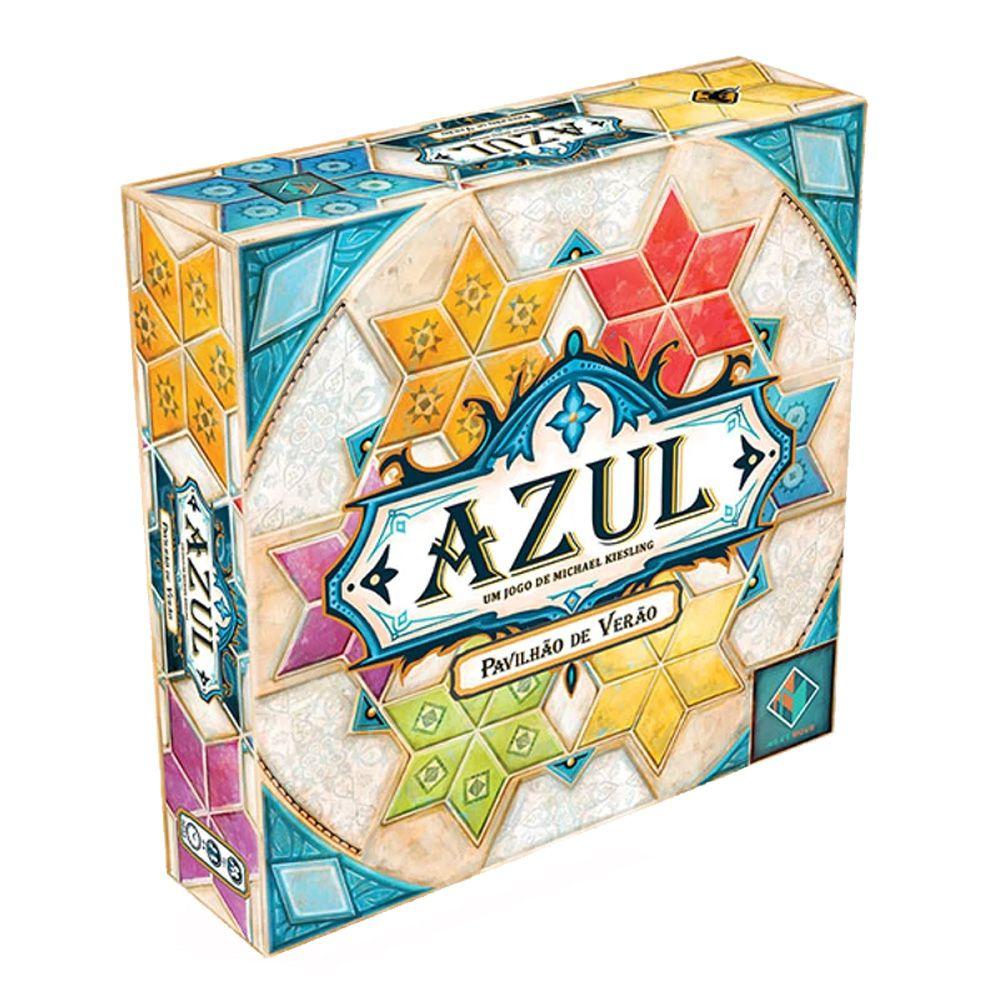 Azul Pavilhao de Verao Jogo de Tabuleiro Galapagos AZU201  - Place Games