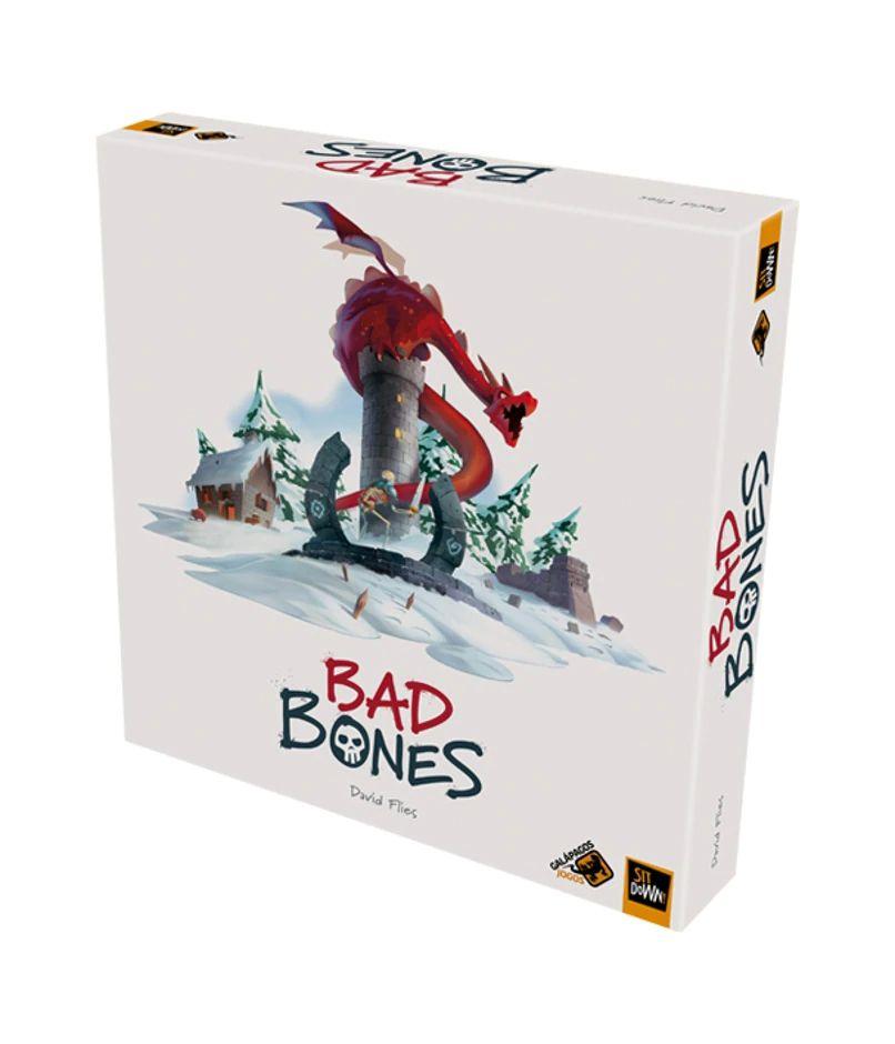 Bad Bones Jogo de Tabuleiro Galapagos BBO001  - Place Games