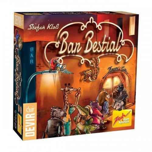 Bar Bestial Jogo de Cartas Devir BGBAR  - Place Games