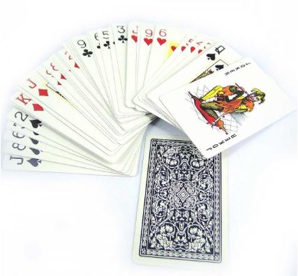 Baralho envernizado Azul 54 Cartas Dragon CBDAZ54  - Place Games