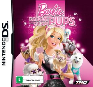 Barbie Groom and Glam + Estojo para DS Lite Nintendo DS Original Lacrado  - Place Games