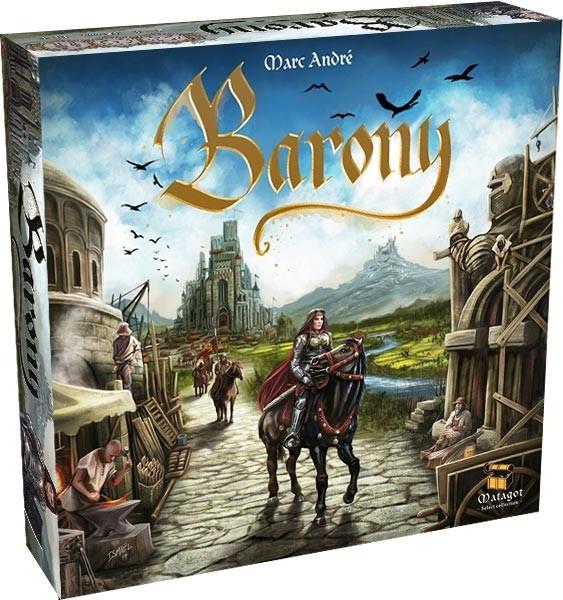 Barony Jogo de Tabuleiro Conclave   - Place Games