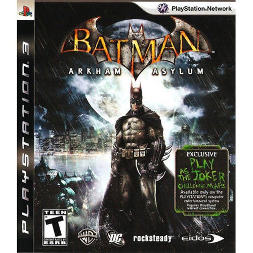 Batman Arkham Asylum Playstation 3 Original Usado  - Place Games
