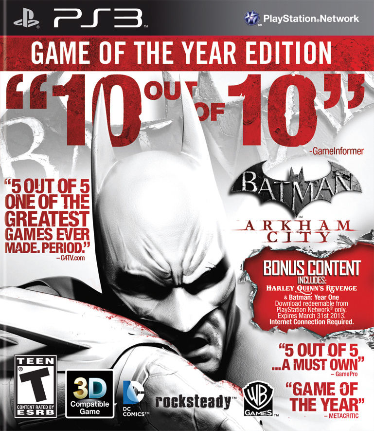 Batman Arkham City GOTY Playstation 3 Original Usado  - Place Games