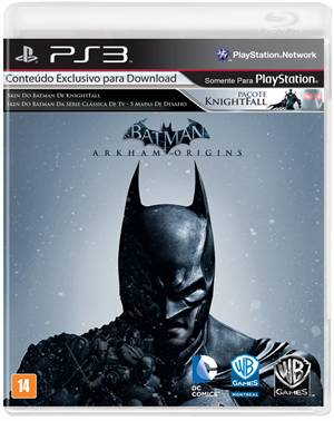Batman Arkham Origins Playstation 3 Original Usado  - Place Games