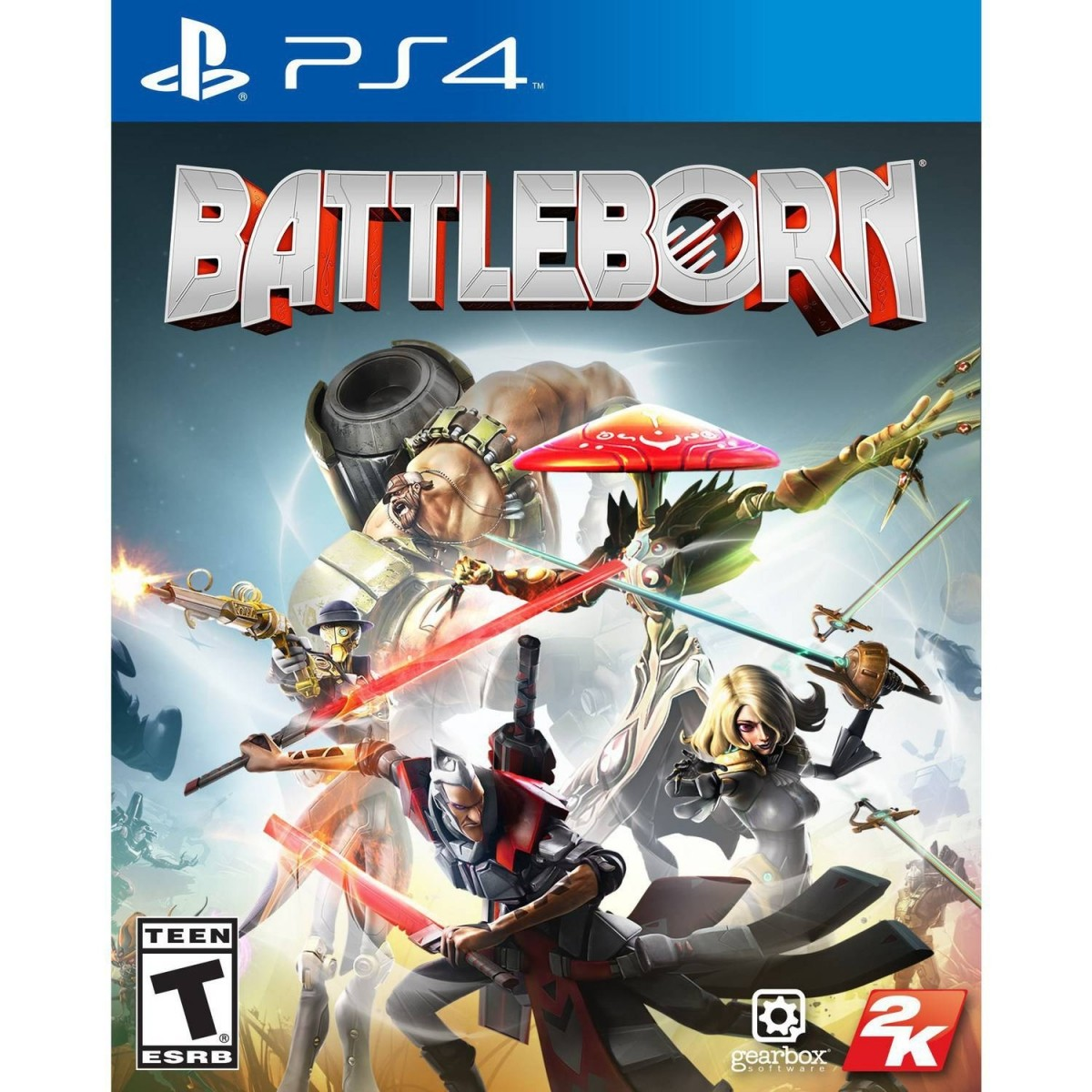 Battle Born Playstation 4 Original Usado  - Place Games