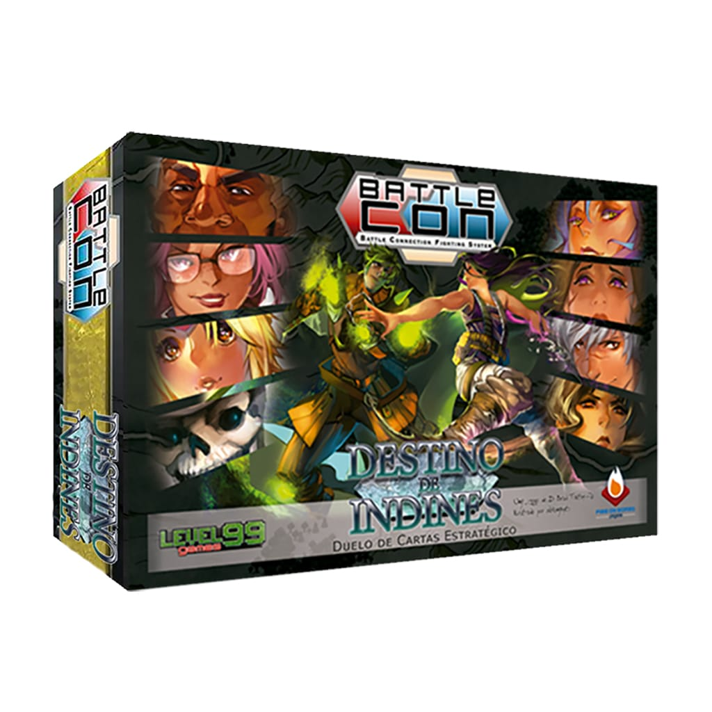 BattleCON Destino de Indines Fire on Board BATT  - Place Games