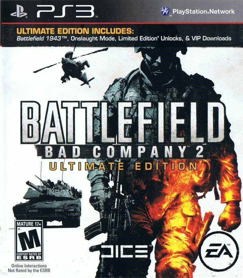 Battlefield Bad Company 2 Ultimate Edition Playstation 3 Original Usado  - Place Games