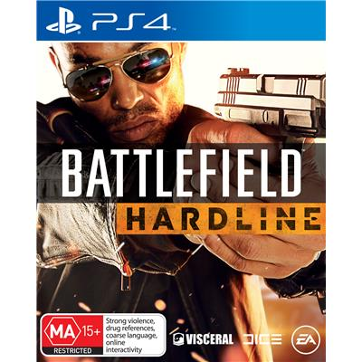 Battlefield Hardline Playstation 4 Original Usado  - Place Games