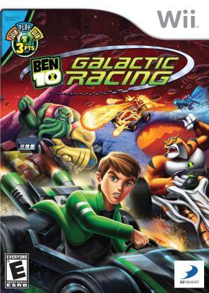 Ben 10 - Galactic Racing Wii Usado Original  - Place Games