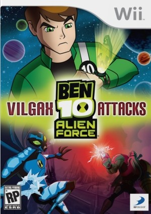 Ben 10 - Vilgax Attacks Alien Force Wii Usado Original  - Place Games