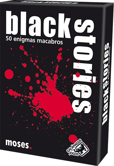Black Stories  Jogo de Cartas Galapagos BLK001  - Place Games