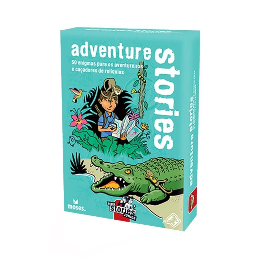 Black Stories Junior Adventure Stories Jogo de Cartas Galapagos BLK207  - Place Games