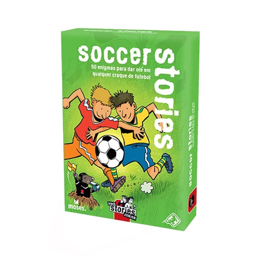 Black Stories Junior Soccer Stories Jogo de Cartas Galapagos BLK206  - Place Games