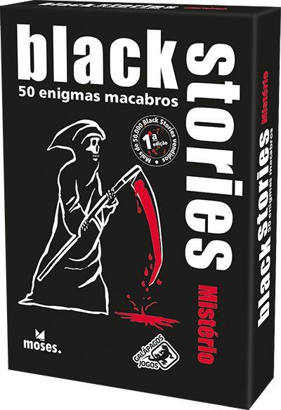Black Stories Mistério  Jogo de Cartas Galapagos BLK107  - Place Games