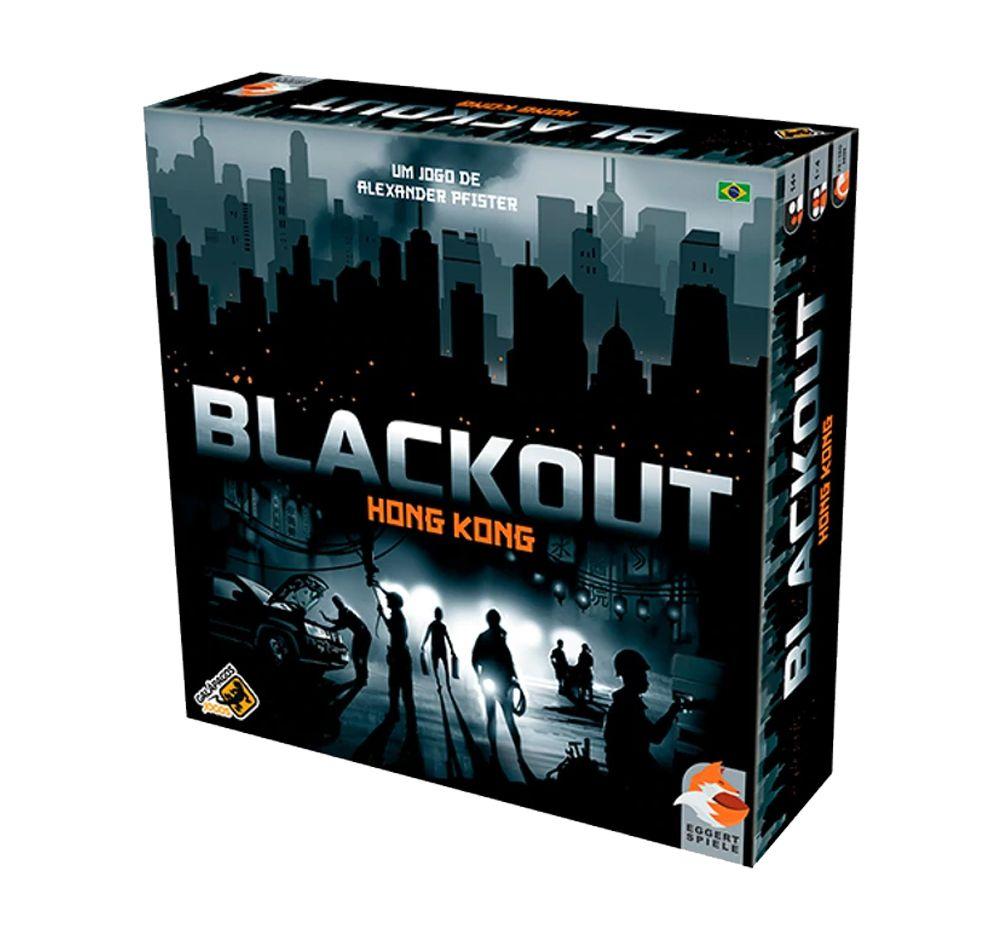 Blackout Hong Kong Jogo de Tabuleiro Galapagos BKT001  - Place Games