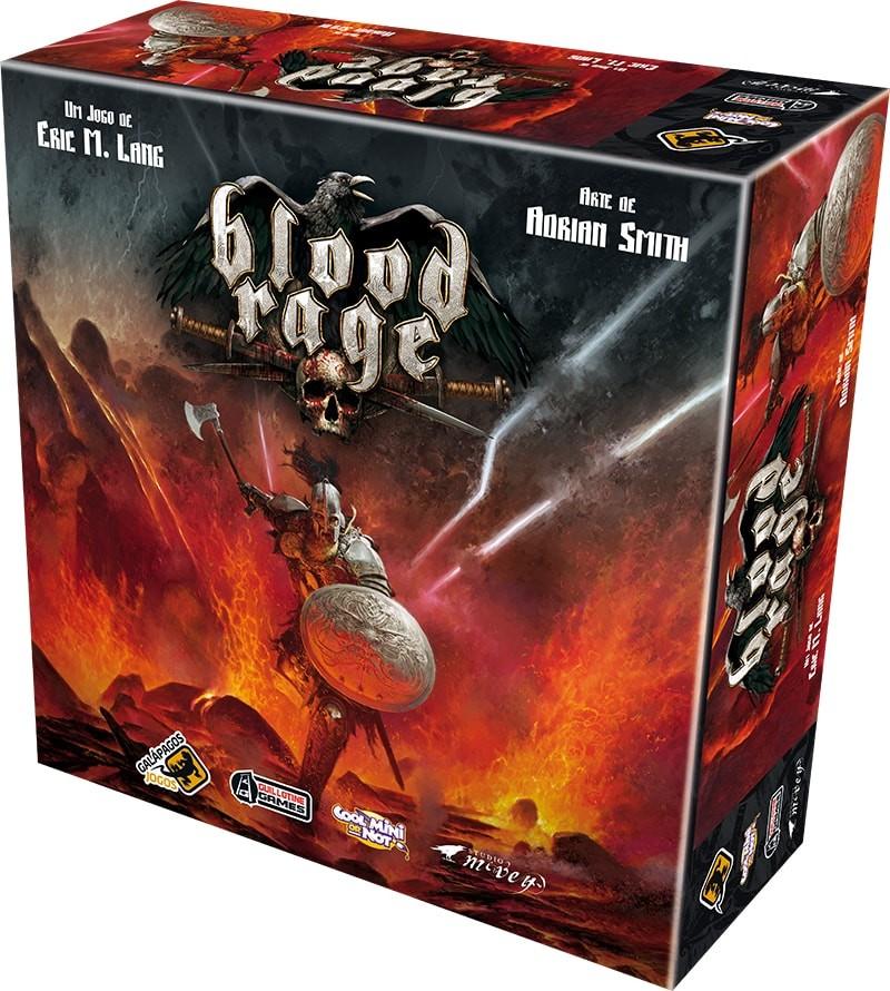 Blood Rage Galapagos BLR001  - Place Games