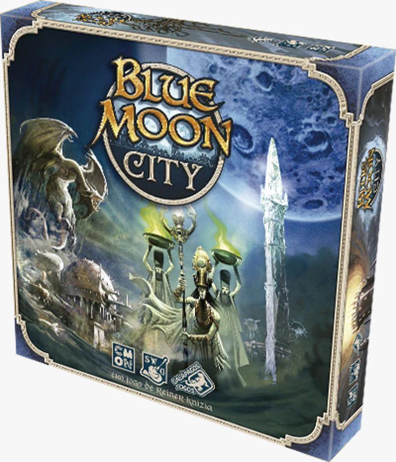 Blue Moon City Jogo de Tabuleiro Galapagos BMC001  - Place Games