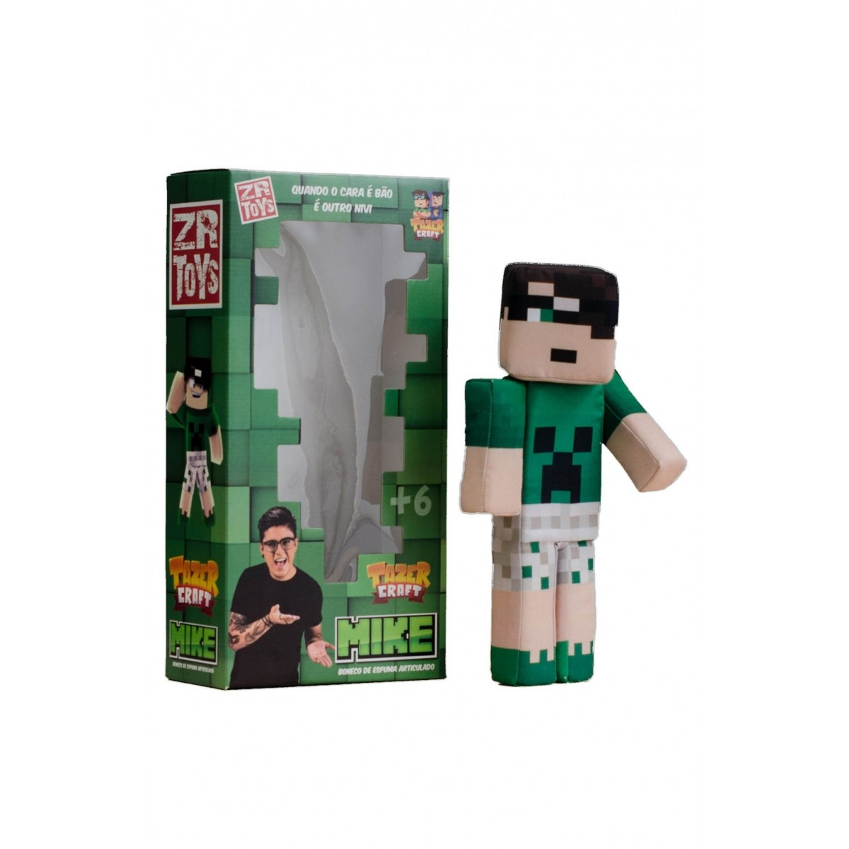 Boneco Tazer Craft Mike ZR Toys C3038  - Place Games