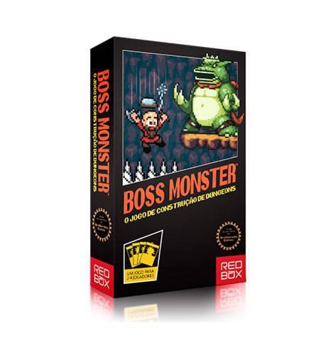 Boss Monster Jogo de Cartas Red Box RBX14001  - Place Games